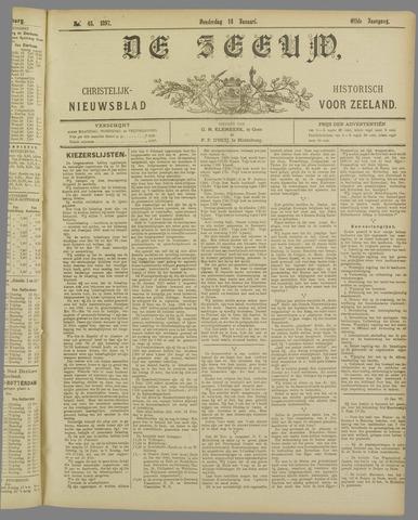 De Zeeuw. Christelijk-historisch nieuwsblad voor Zeeland 1897-01-14