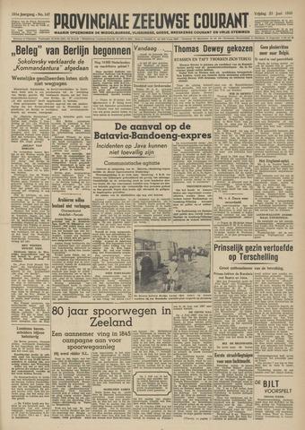 Provinciale Zeeuwse Courant 1948-06-25