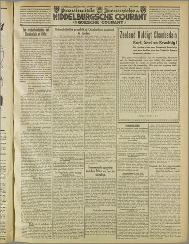 Middelburgsche Courant 1938-10-01