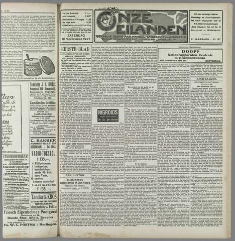 Onze Eilanden 1927-09-10
