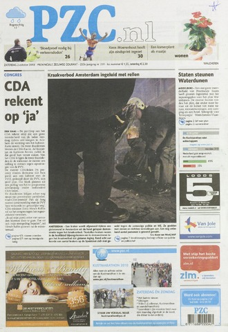 Provinciale Zeeuwse Courant 2010-10-02