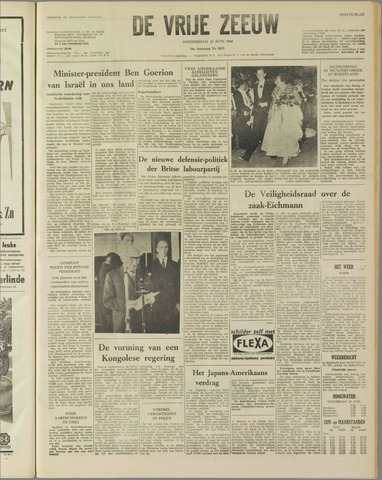 de Vrije Zeeuw 1960-06-23