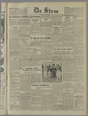 de Stem 1948-04-21