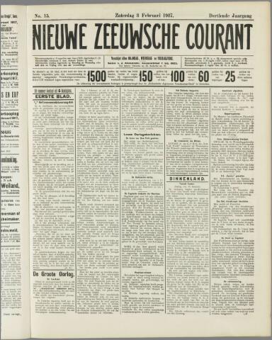 Nieuwe Zeeuwsche Courant 1917-02-03