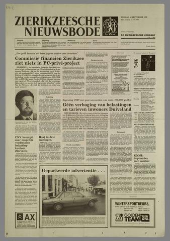 Zierikzeesche Nieuwsbode 1988-09-30