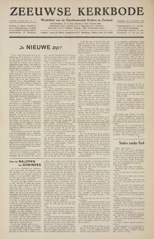 Zeeuwsche kerkbode, weekblad gewijd aan de belangen der gereformeerde kerken/ Zeeuwsch kerkblad 1955-01-28