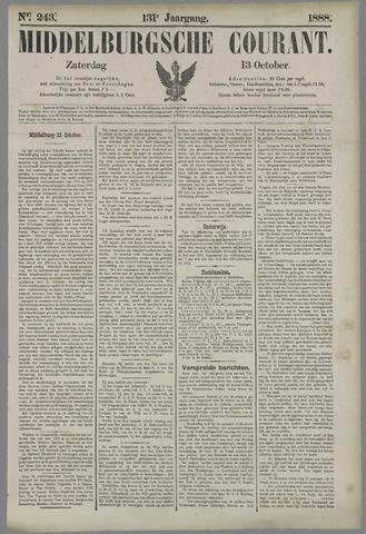Middelburgsche Courant 1888-10-13