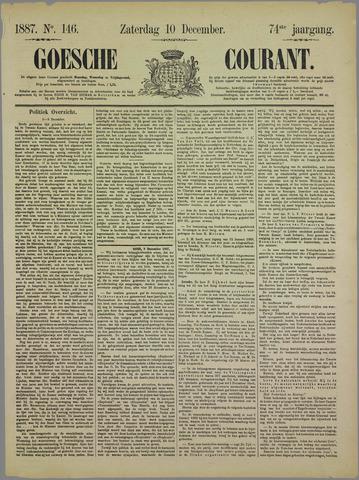 Goessche Courant 1887-12-10