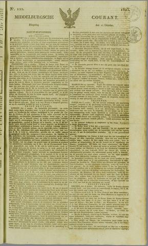 Middelburgsche Courant 1825-10-11