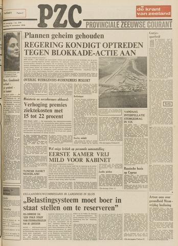 Provinciale Zeeuwse Courant 1974-11-27