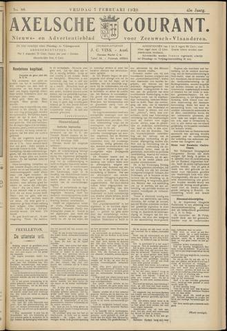 Axelsche Courant 1930-02-07