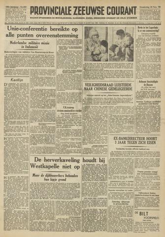 Provinciale Zeeuwse Courant 1950-11-30