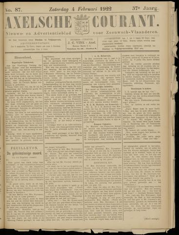 Axelsche Courant 1922-02-04