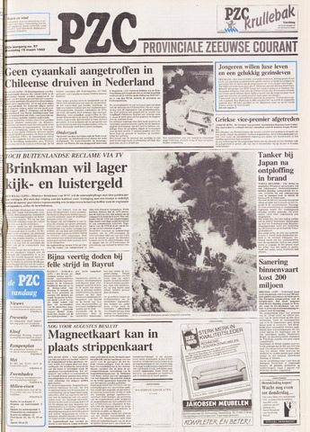 Provinciale Zeeuwse Courant 1989-03-15