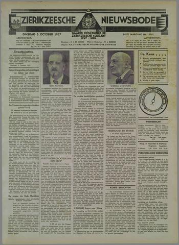 Zierikzeesche Nieuwsbode 1937-10-05