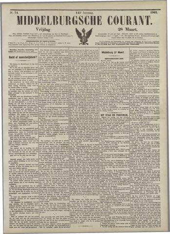 Middelburgsche Courant 1902-03-28