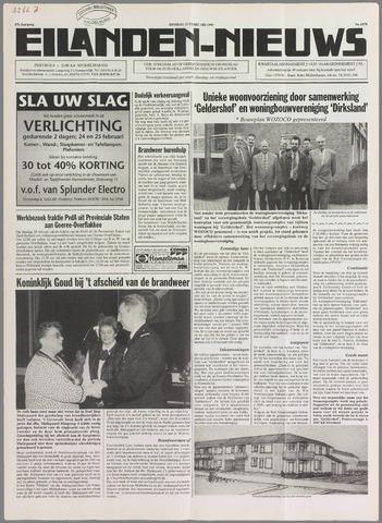 Eilanden-nieuws. Christelijk streekblad op gereformeerde grondslag 1995-02-21