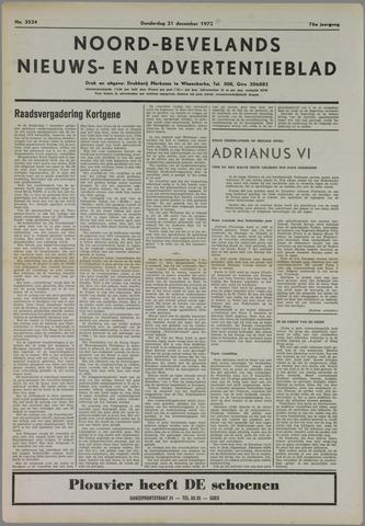 Noord-Bevelands Nieuws- en advertentieblad 1972-12-21