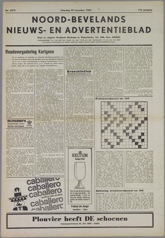Noord-Bevelands Nieuws- en advertentieblad 1969-11-29