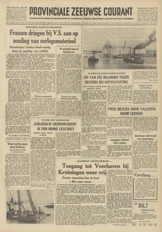 Provinciale Zeeuwse Courant 1954-04-08