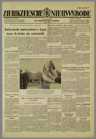 Zierikzeesche Nieuwsbode 1959-10-08