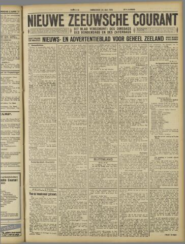Nieuwe Zeeuwsche Courant 1926-07-22