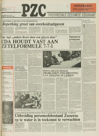 Provinciale Zeeuwse Courant 1977-09-20