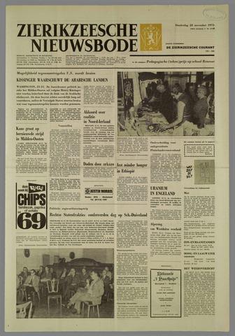 Zierikzeesche Nieuwsbode 1973-11-22