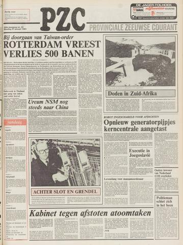 Provinciale Zeeuwse Courant 1981-01-27