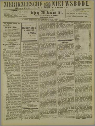 Zierikzeesche Nieuwsbode 1911-01-20