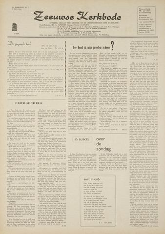 Zeeuwsche kerkbode, weekblad gewijd aan de belangen der gereformeerde kerken/ Zeeuwsch kerkblad 1969-07-17