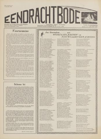 Eendrachtbode (1945-heden)/Mededeelingenblad voor het eiland Tholen (1944/45) 1969-12-30
