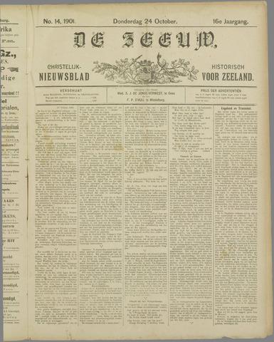 De Zeeuw. Christelijk-historisch nieuwsblad voor Zeeland 1901-10-24