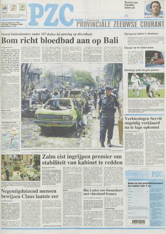 Provinciale Zeeuwse Courant 2002-10-14