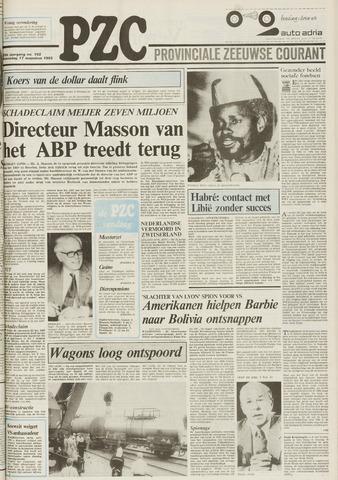 Provinciale Zeeuwse Courant 1983-08-17
