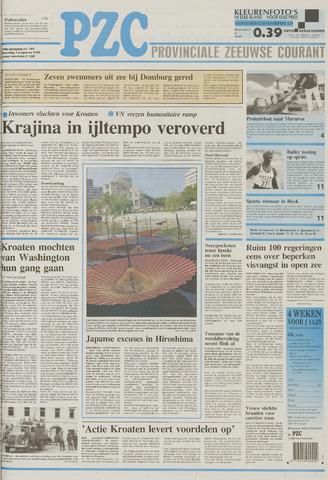 Provinciale Zeeuwse Courant 1995-08-07