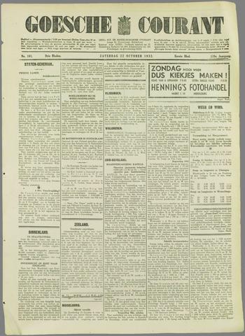 Goessche Courant 1932-10-22