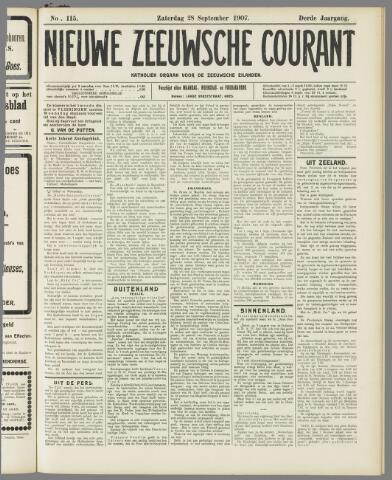 Nieuwe Zeeuwsche Courant 1907-09-28