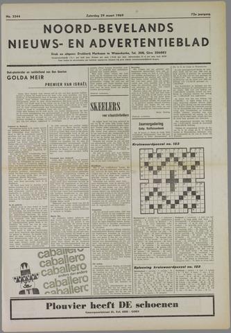 Noord-Bevelands Nieuws- en advertentieblad 1969-03-29