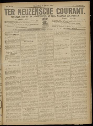 Ter Neuzensche Courant. Algemeen Nieuws- en Advertentieblad voor Zeeuwsch-Vlaanderen / Neuzensche Courant ... (idem) / (Algemeen) nieuws en advertentieblad voor Zeeuwsch-Vlaanderen 1917-03-10
