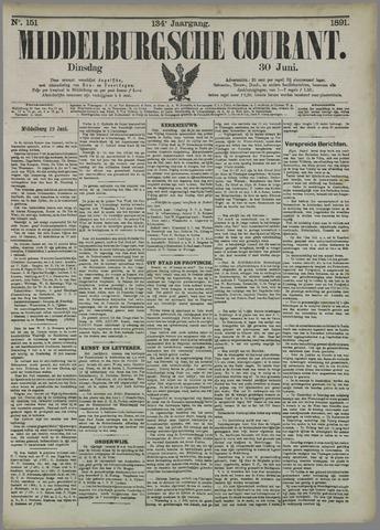 Middelburgsche Courant 1891-06-30