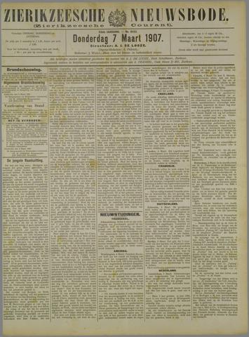 Zierikzeesche Nieuwsbode 1907-03-07