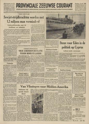 Provinciale Zeeuwse Courant 1956-05-15