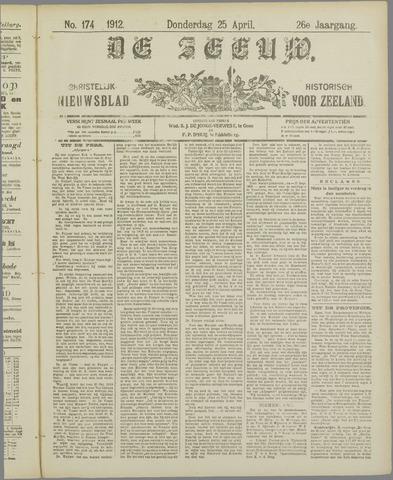 De Zeeuw. Christelijk-historisch nieuwsblad voor Zeeland 1912-04-25
