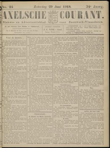 Axelsche Courant 1918-06-29