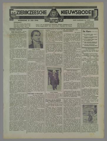 Zierikzeesche Nieuwsbode 1940-07-31
