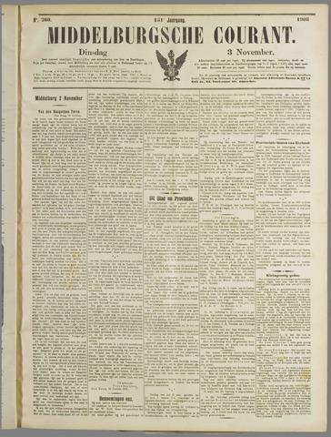 Middelburgsche Courant 1908-11-03
