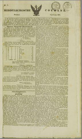 Middelburgsche Courant 1837