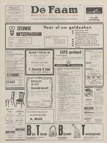 de Faam en de Faam/de Vlissinger 1971-04-01