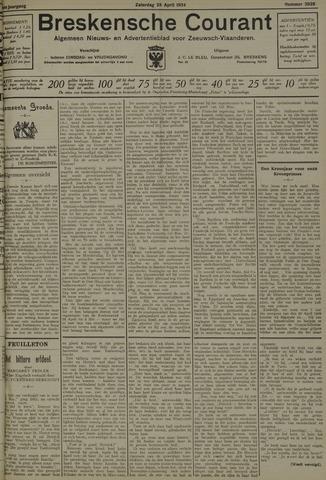 Breskensche Courant 1934-04-28